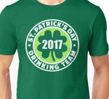 St. Patricks day drinking team 2017 Unisex T-Shirt