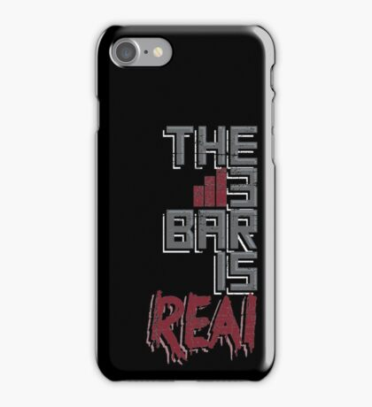 The 3 Bar is Real Gamers iPhone Case/Skin