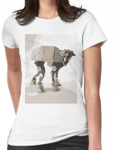 AT-ATDog#2 Womens Fitted T-Shirt