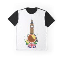 Tea time. Cup of tea with lemon. English tea Graphic T-Shirt