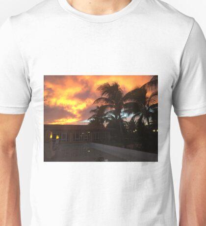 Sunset in the Caribbean Unisex T-Shirt