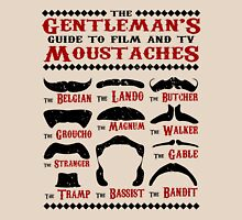 The Gentleman's Guide To Film & TV Moustaches Unisex T-Shirt