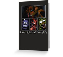 Five nights at Freddy's Greeting Card