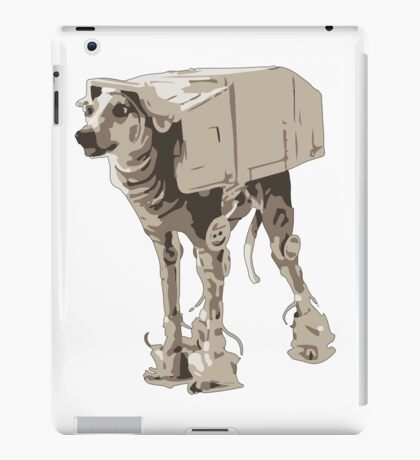 AT-ATDog#5 iPad Case/Skin