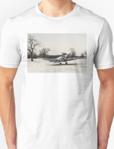 Spitfire in the snow T-Shirt