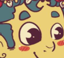 Flower crown Sticker