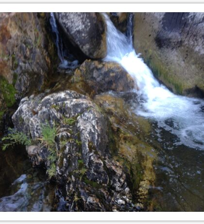 Small Waterfall Sticker