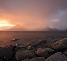 Isle of Skye Sunset by Maria Gaellman