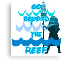 Go Beyond the Reef Canvas Print
