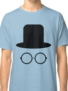 Hat and glasses seamless Classic T-Shirt