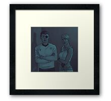 Mirrorverse Framed Print