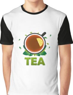 Tea. Cup of tea with lemon Graphic T-Shirt