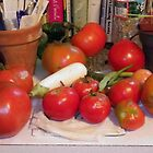 End of Summer in My Kitchen by Betty Mackey