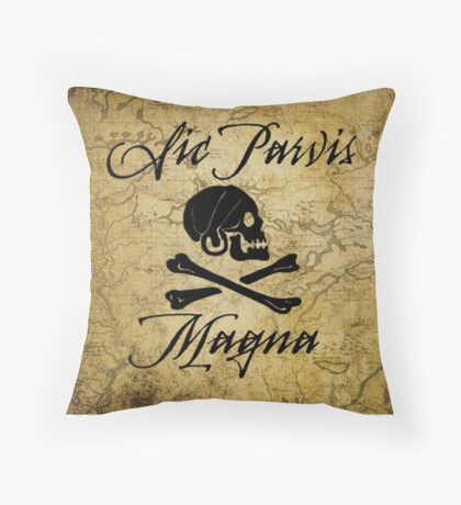 Uncharted 4 Henry Avery Sigil Throw Pillow