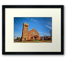 Clutier Community Center Framed Print