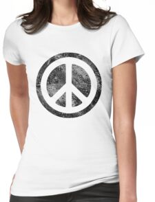Peace Symbol - Dissd Womens Fitted T-Shirt