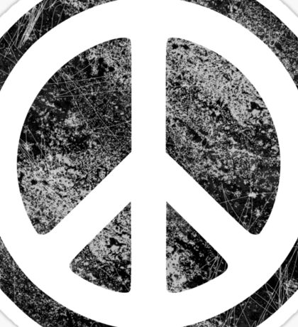 Peace Symbol - Dissd Sticker