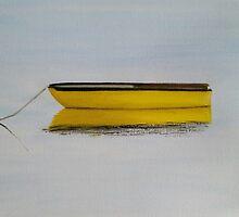 Yellow Boat by Ken Pratt