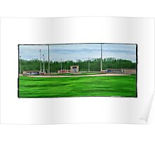 Ball Field Of Dreams Poster