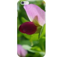 Pink Pea Blossom iPhone Case/Skin