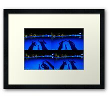 Shadow Game Framed Print
