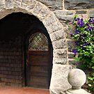 Door to the Gardener's Cottage by Jane Neill-Hancock