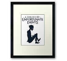 A series of unfortunate events Olaf Framed Print