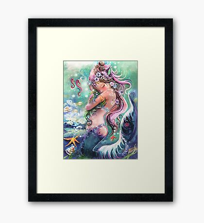 When you just need hugs... Framed Print