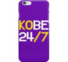 Kobe 24/7 iPhone Case/Skin