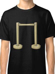 Glitch furniture largefrontfloordeco forest screen Classic T-Shirt