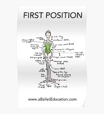 Notes on First Position Poster