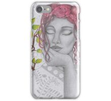 My Lady in Silver iPhone Case/Skin