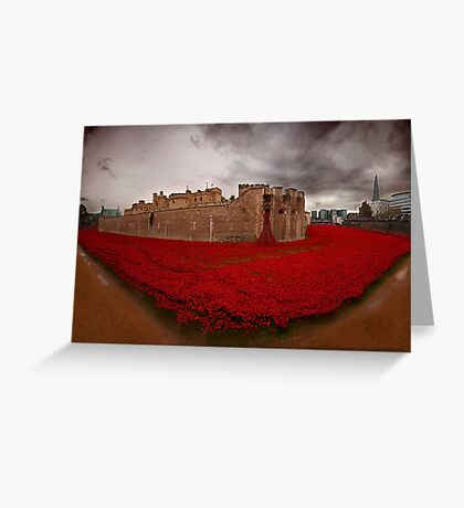 Lest we forget  Greeting Card