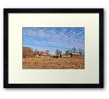 Old Tama Farm Framed Print