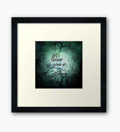 Once Upon A Time ~ Fairytale Forest Framed Print