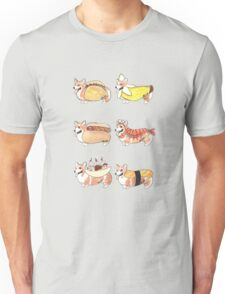 Food Corgi Costumes 1 Unisex T-Shirt
