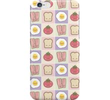 Kawaii Bacon, Egg, Tomato & Bread iPhone Case/Skin