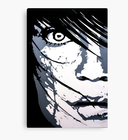 Face 01 Canvas Print