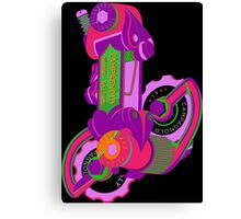 The World's Most Famous 70's Derailleur, One Cool Cat Canvas Print