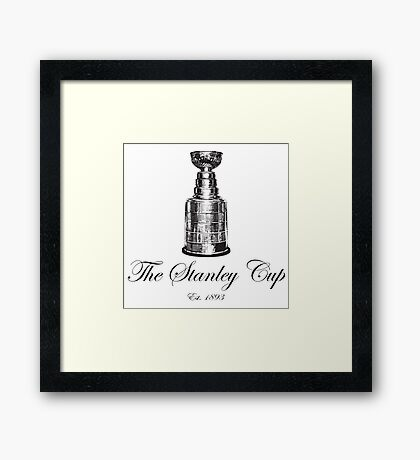 The Stanley Cup Framed Print