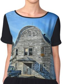 The Old Building Chiffon Top