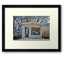 Buckingam Post Office Framed Print