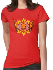 Fire Evolution  Womens Fitted T-Shirt