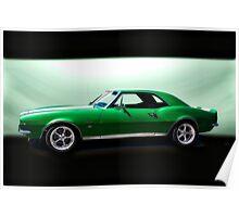 1968 Chevrolet Camaro RS Poster