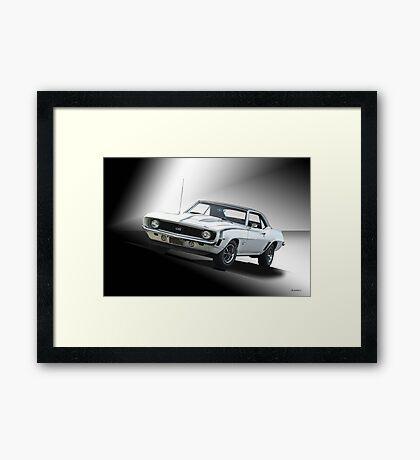 1968 Chevrolet Camaro SS Framed Print