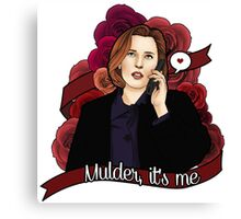 XF Dana Scully  Canvas Print