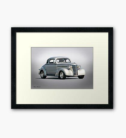 1938 Chevrolet Master Deluxe Coupe Framed Print