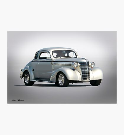 1938 Chevrolet Master Deluxe Coupe Photographic Print