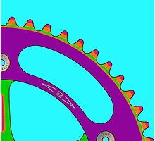 Psychedeli-Cat Chainring Photographic Print