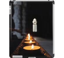 St Conans Kirk - Prayers Candles (interior) iPad Case/Skin
